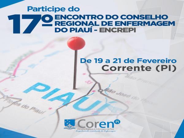 17º Encontro do Conselho Regional de Enfermagem do Piauí
