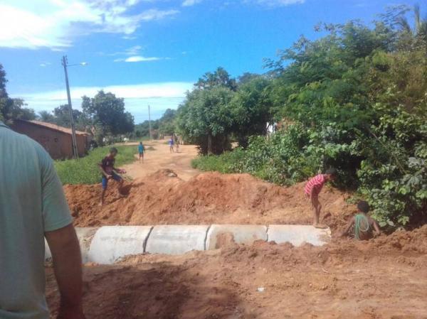 Prefeitura de Redenção concluí construção de bueiro na comunidade Cupins