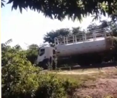 Denuncia: Extração irregular de água do rio Gurgueia