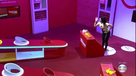 Elana é líder pela terceira vez no Big Brother Brasil