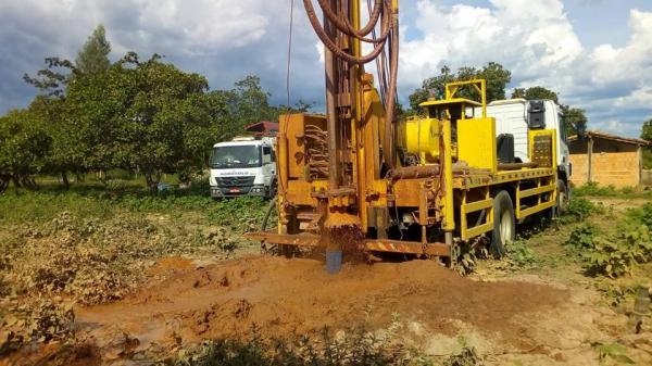 Prefeitura de Redenção perfura poços tubulares na zona rural