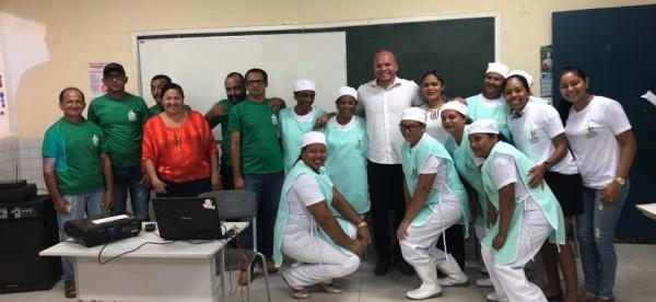 Secretaria realiza capacitação de Merendeiras em Gilbués