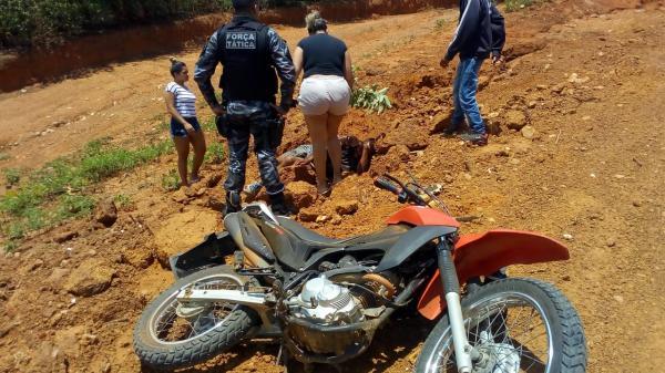 PM de Avelino Lopes presta socorro em acidente