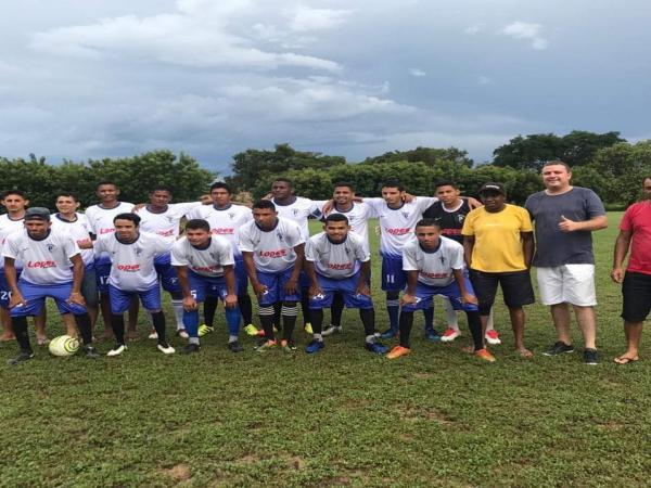 Nestor Elvas acompanhou partida de futebol na zona rural