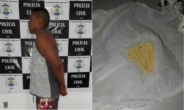Polícia Civil prende mais um suspeito em Redenção do Gurgueia
