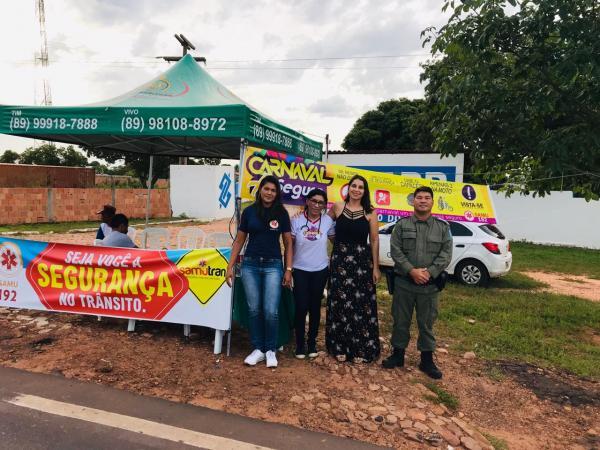 Saúde de Gilbués realizou o SAMUTRAN