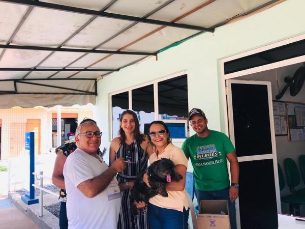 Saúde de Gilbués realizou dia 'D' da vacinação Anti-rábica
