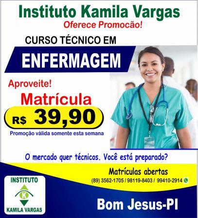 Promoção imperdível para o curso de Técnico em Enfermagem