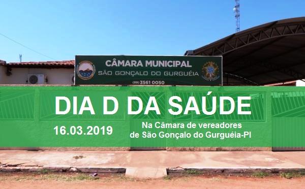 Vereadores realizarão o 'Dia D da Saúde' em São Gonçalo do Gurguéia