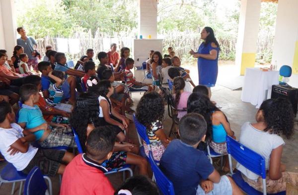 O 'Programa Saúde na Escola' é sucesso em Cristino Castro