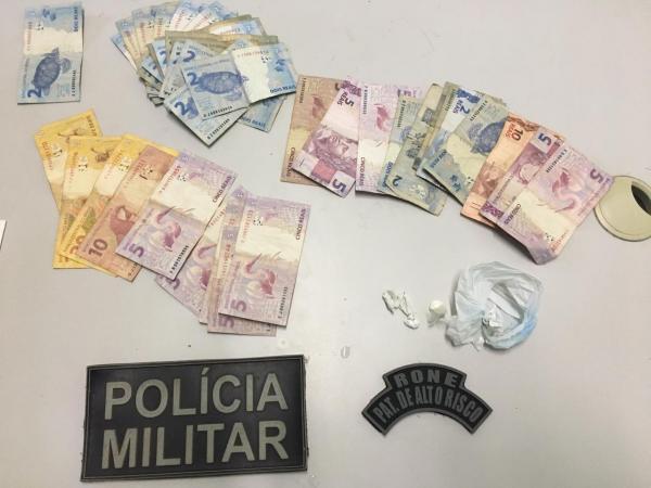 Policia Militar de Parnaguá prende suspeitos de tráfico de drogas