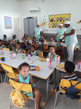 Merenda escolar de qualidade é referência nas escolas de Gilbués