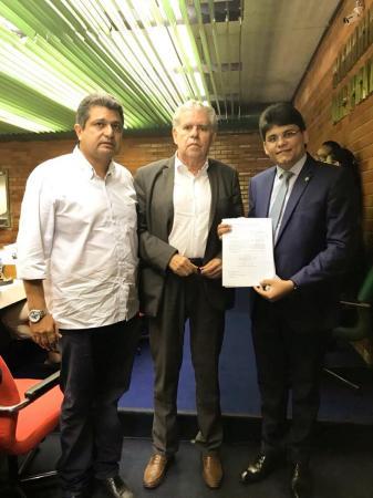 Oliveira Neto solicita retorno de unidade da Cepisa ao município de Gilbués