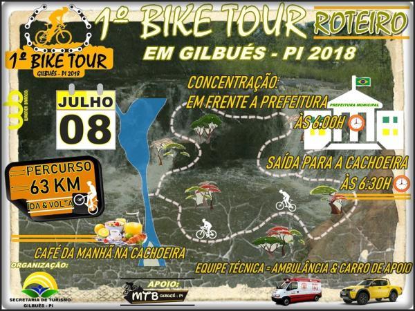 Gilbués realizará primeiro bike tour