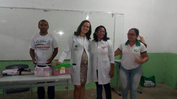 Saúde de Redenção inicia programa de prevenção em saúde bucal