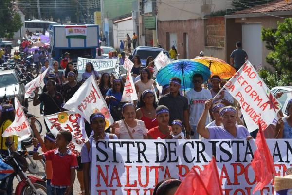 Marcha das Margaridas foi realizada em Corrente-PI