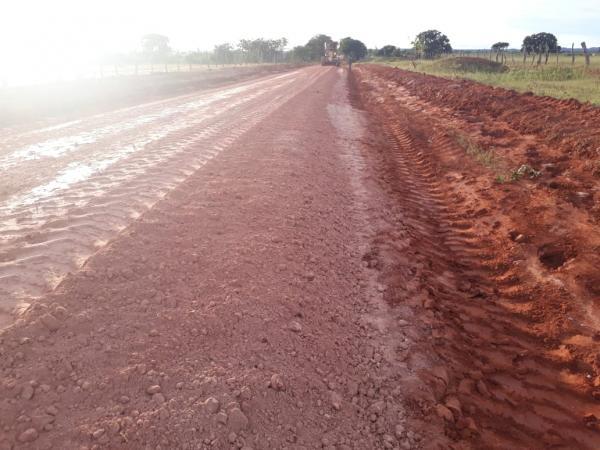 Prefeitura de Gilbués continua recuperando estradas vicinais