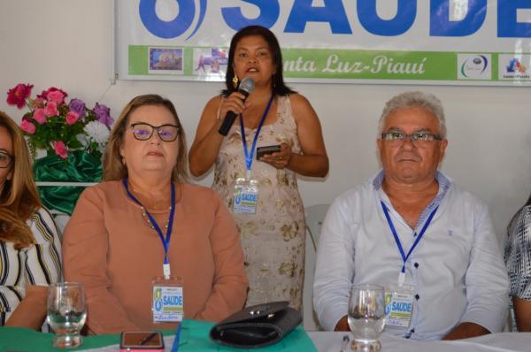 Conferência Municipal de Saúde de Santa Luz. Foto: João Victor