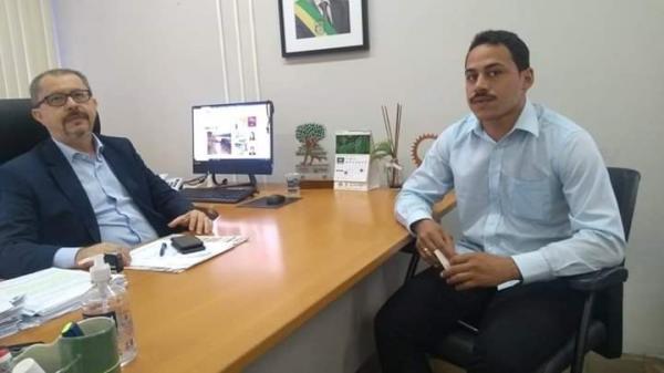 Vereador Henrique Guerra visita secretário de Meio Ambiente do Piauí