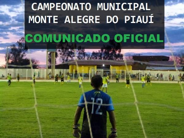 Abertura do Campeonato Municipal de Monte Alegre é adiado