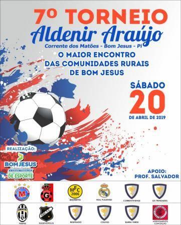 Bom Jesus: Vereador Salvador convida população para o Torneio Aldenir Araújo