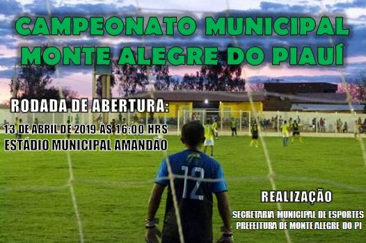 Municipal de Monte Alegre começa neste sábado (13)