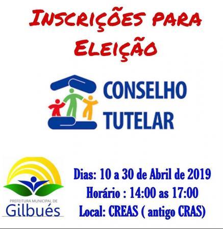 Inscrições abertas para candidatos ao Conselho Tutelar de Gilbués