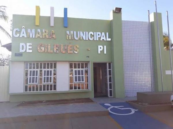 Sessão Câmara de vereadores de Gilbués
