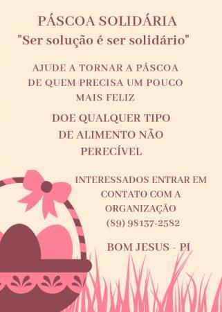 Bom Jesus: Grupo realiza campanha de arrecadação de alimentos e brinquedos