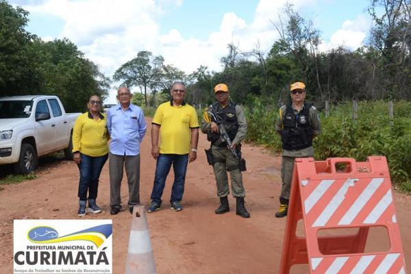 Equipe técnica vistoria Barragem Algodões II, em Curimatá