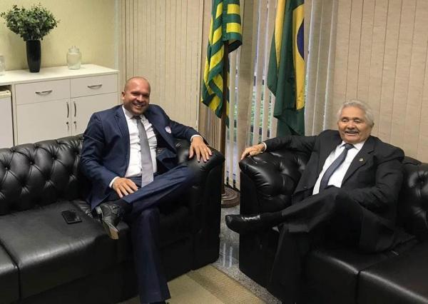 Em busca de recursos, Léo Matos cumpre agenda em Brasília