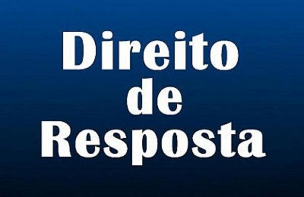 Vereador Ampário Gil publica direito de resposta