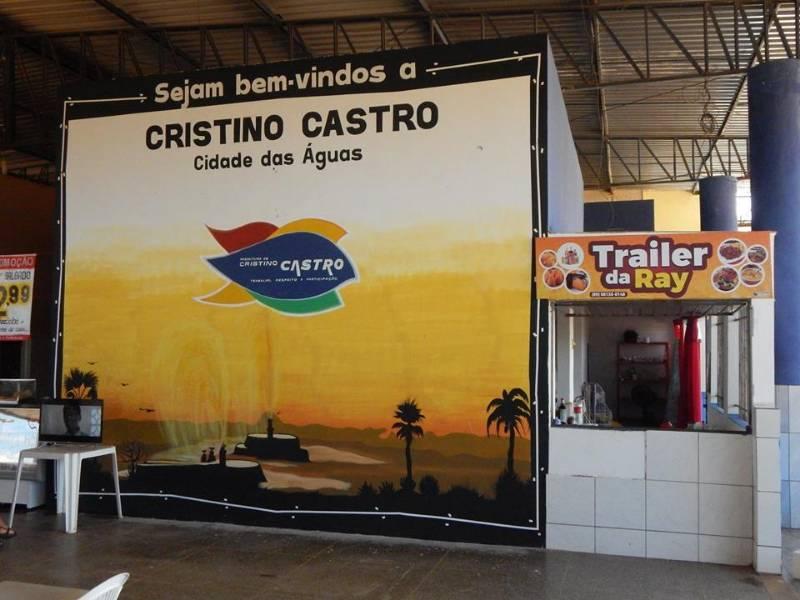 Terminal Rodoviário de Cristino Castro é reformado