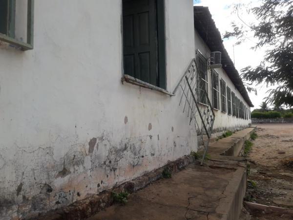Meliantes presos em flagrante por arrombamento em escola de Gilbués