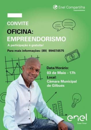 Prefeitura de Gilbués promove Palestra sobre empreendedorismo.