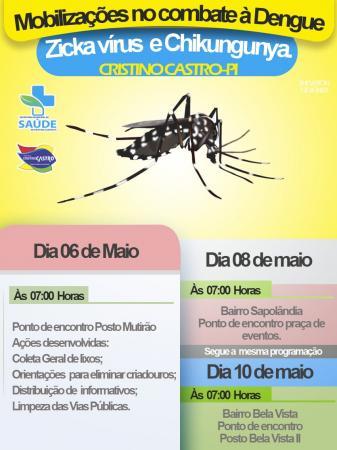 Cristino Castro: Saúde monta atendimento voltado para casos de dengue