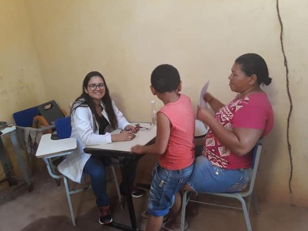 Zona rural de Gilbués volta a ser atendida pelo Saúde da Família
