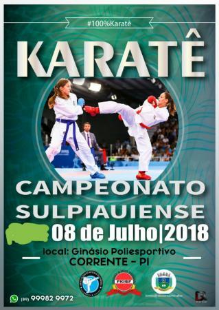 Corrente recebe neste fim de semana o campeonato Sul Piauiense de Karatê