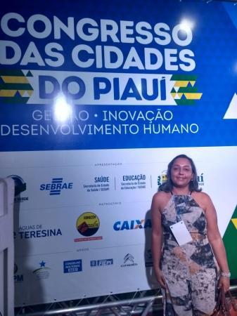 Vereadora Ronilda Leal participa do Congresso das Cidades