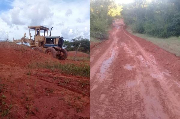 Prefeitura de Gilbués continua trabalho de recuperação de estradas