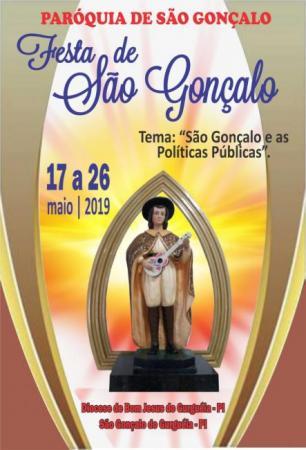 Programação para os festejos na cidade de São Gonçalo
