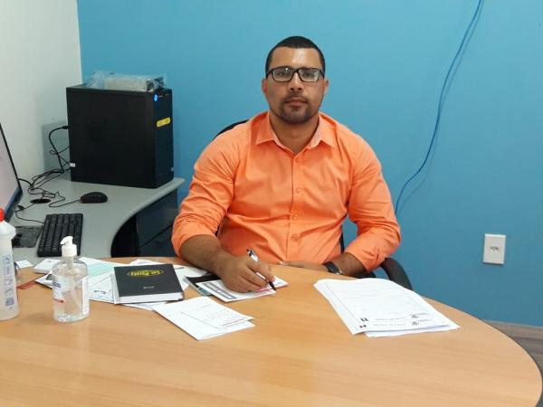 Jorge Leandro, secretário municipal de Trabalho, Geração de Emprego e Renda.