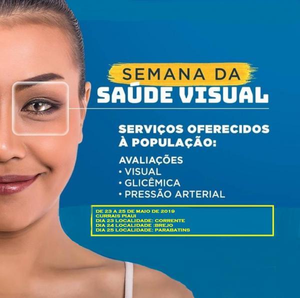 Prefeitura de Currais ofertará exames de vista gratuito; CONFIRA
