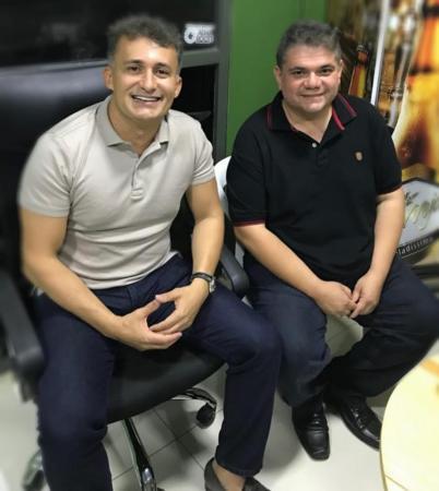 Valdecir Júnior se reúne com deputado Fábio Xavier em Teresina