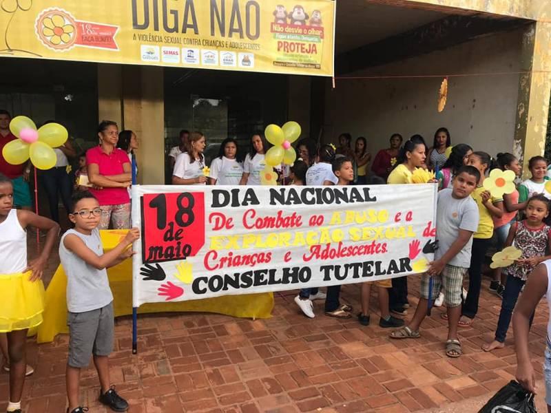 18 de Maio: Blitz educativa e caminhada de conscientização em Gilbués