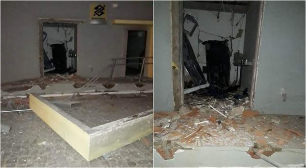 Bandidos estouram caixa eletrônico sem dinheiro e cofre dos Correios no Piauí