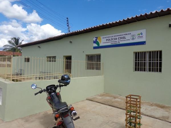 Delegacia Regional de Valença do Piauí — Foto: Sérgio Alves/Portal V1