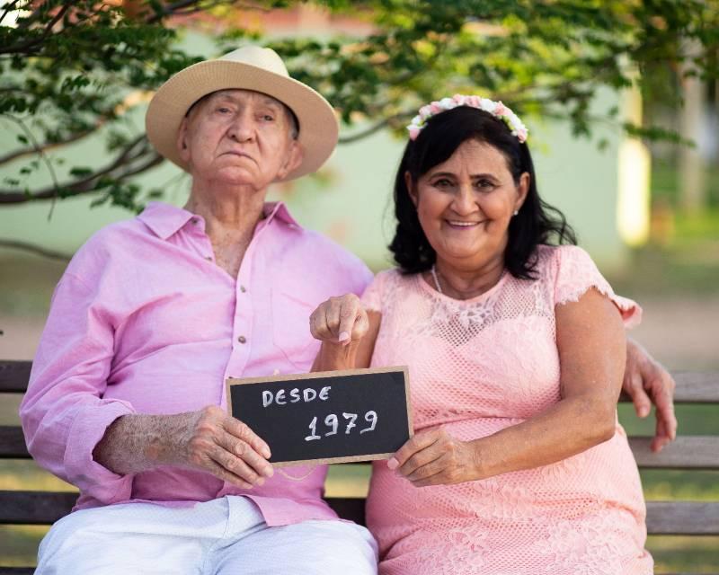 Bom Jesus: Aos 94 anos, homem realiza sonho da esposa de casar na igreja