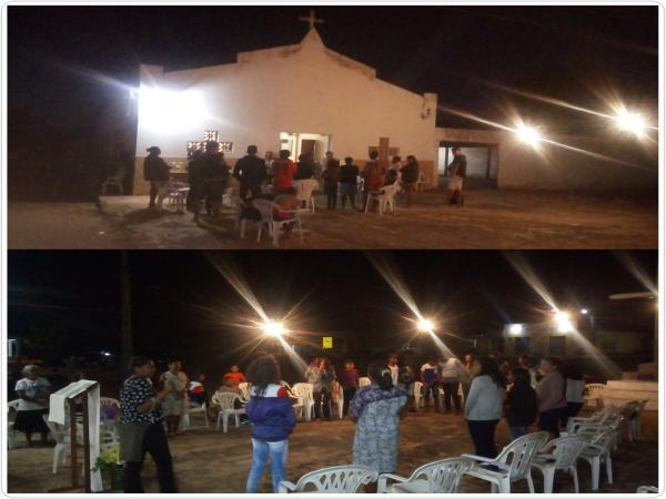 Vigília e alvorada abrem os festejos da comunidade São Dimas
