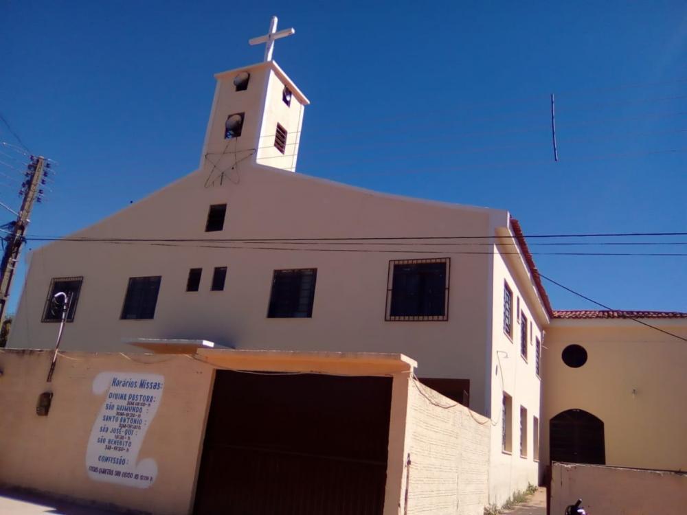 Casa Paroquial de Gilbués-PI. (Foto: Portal B1).
